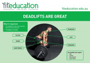 Deadlifts are great